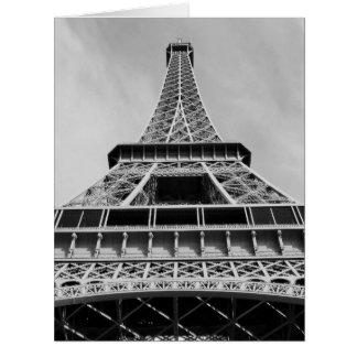 Torre Eiffel, París, Francia Tarjeta De Felicitación Grande