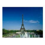 Torre Eiffel, París, Francia Tarjetas Postales