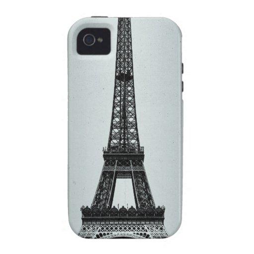 Torre Eiffel París Francia Vibe iPhone 4 Carcasas