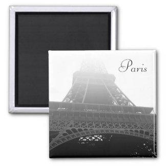 Torre Eiffel, París Imán Cuadrado