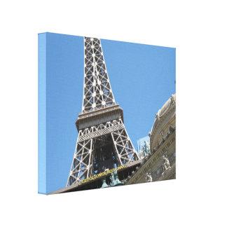 Torre Eiffel, París, Las Vegas Impresiones En Lona