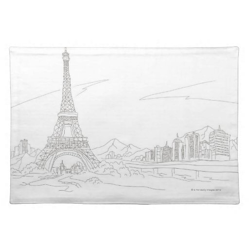 Torre Eiffel, París Manteles