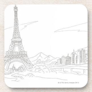 Torre Eiffel, París Posavaso