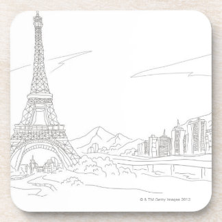 Torre Eiffel, París Posavasos De Bebidas