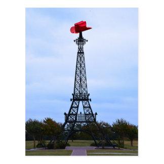 Torre Eiffel, París, Tejas Postal