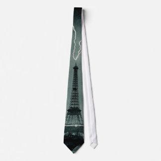 Torre Eiffel pegada Corbatas Personalizadas