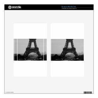 Torre Eiffel Pegatinas Skins Para Kindle Fire