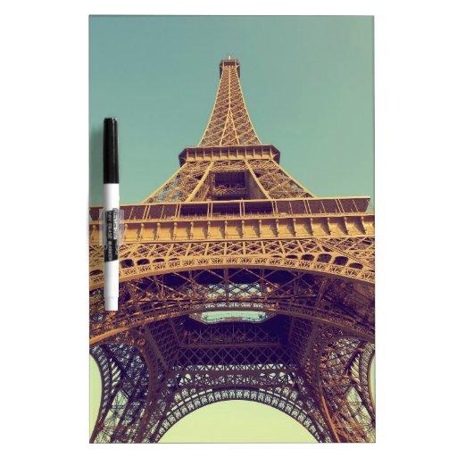 Torre Eiffel Pizarras Blancas De Calidad