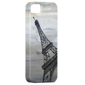 Torre Eiffel por el acebo Anderson del artista Funda Para iPhone 5 Barely There