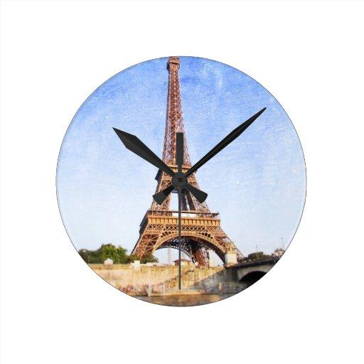 Torre Eiffel Relojes