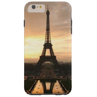 Torre Eiffel romántica bonita París Francia de la Funda Para iPhone 6 Plus Tough