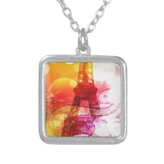Torre Eiffel romántica Colgantes Personalizados