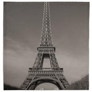 Torre Eiffel Servilleta Imprimida
