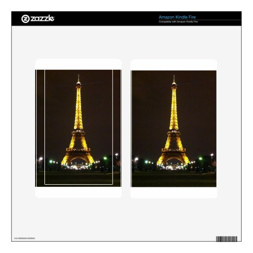 Torre Eiffel Skin Para Kindle Fire