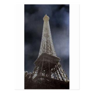 Torre Eiffel solar Postal