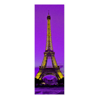 Torre Eiffel Plantilla De Tarjeta De Negocio