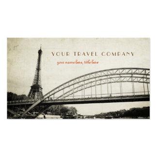Torre Eiffel - tarjeta de visita