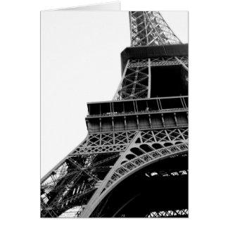Torre Eiffel Tarjeta Pequeña