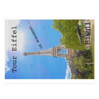 Torre Eiffel Postales