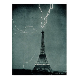 Torre Eiffel Tarjeta Postal