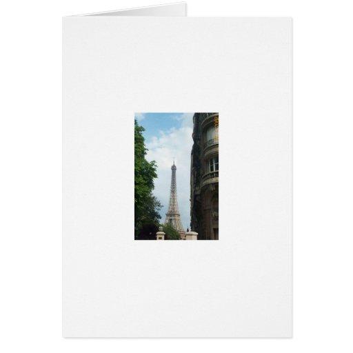 Torre Eiffel Tarjeton