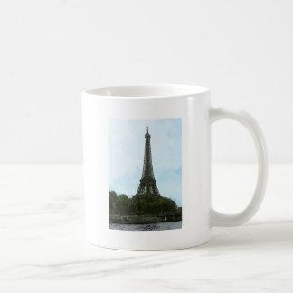 Torre Eiffel Taza Básica Blanca