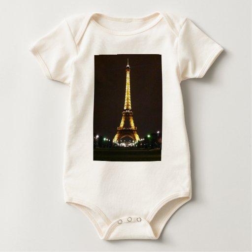Torre Eiffel Traje De Bebé