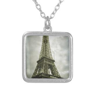 Torre Eiffel vieja París del efecto de la foto Grímpola