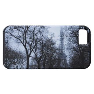 Torre Eiffel y árboles, París, Francia iPhone 5 Cárcasas