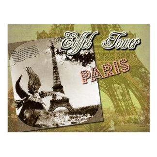 Torre Eiffel y Champ de Mars, París, Francia Postal
