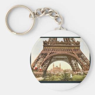 Torre Eiffel y el Trocadero, exposición Univers Llaveros Personalizados