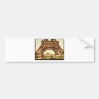 Torre Eiffel y el Trocadero, exposición Univers Pegatina Para Auto