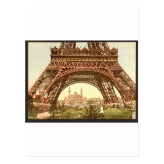 Torre Eiffel y el Trocadero, exposición Univers Postales