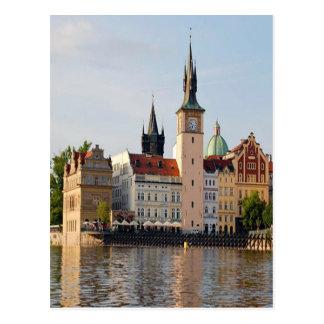 Torre en Praga Tarjeta Postal