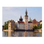 Torre en Praga Tarjetas Postales