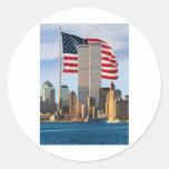 Torre gemela América Pegatinas