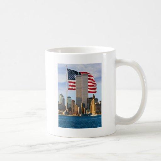 Torre gemela América Taza