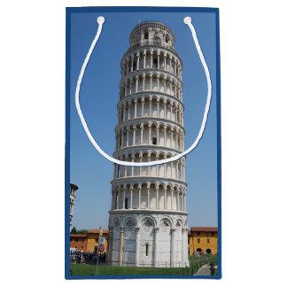 Torre inclinada de Italia de Pisa Bolsa De Regalo Pequeña
