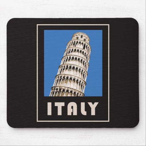 Torre inclinada de Italia de Pisa Alfombrillas De Raton