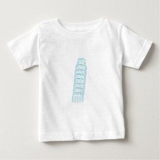 Torre inclinada de la señal de Pisa T Shirts