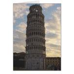Torre inclinada de Pisa Felicitaciones