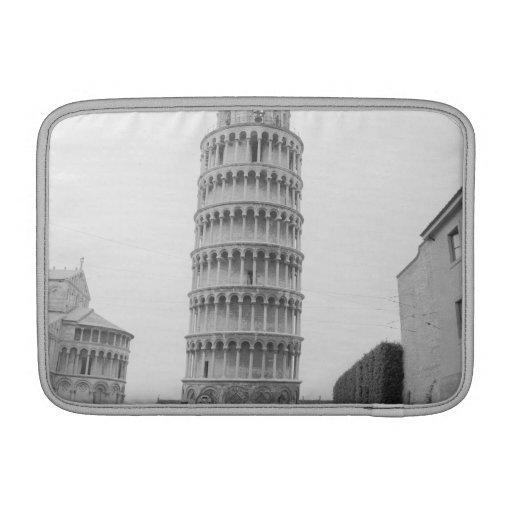 Torre inclinada de Pisa Fundas Para Macbook Air