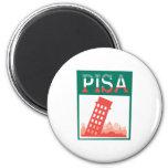 Torre inclinada de Pisa Imán