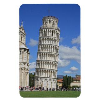 Torre inclinada de Pisa Iman De Vinilo