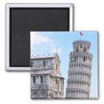 Torre inclinada de Pisa Imanes