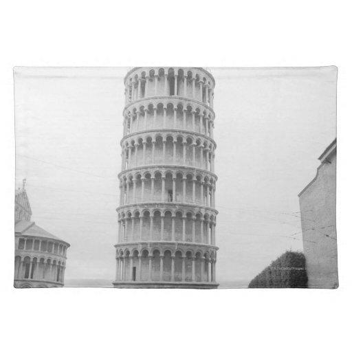 Torre inclinada de Pisa Mantel Individual
