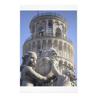 Torre inclinada de Pisa Papeleria De Diseño