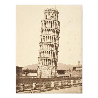 Torre inclinada de Pisa Impresiones Fotograficas