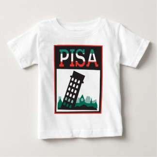 Torre inclinada de Pisa Camisetas