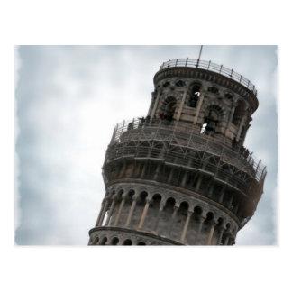 Torre inclinada de Pisa Postal